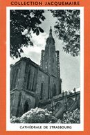 COLLECTION JACQUEMAIRE  CATHEDRALE DE STRASBOURG - Sammelbilderalben & Katalogue