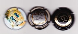 3 Capsules Muselets 1 Georges Cartier 1 Régis Emery 1 Cancen Val De Loire Avec URL - Mousseux