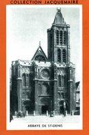 COLLECTION JACQUEMAIRE  ABBAYE DE ST DENIS - Sammelbilderalben & Katalogue