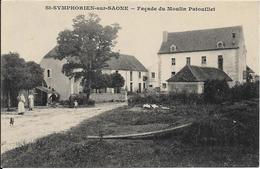 SAINT SYMPHORIEN SUR SAONE Façade Du Moulin Patouillet - France