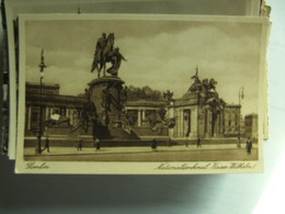 Duitsland Deutschland Berlin Nationaldenkmal Kaiser Wilhelm I - Andere