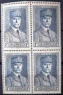 ALGERIE - N°168 - Neuf SANS Charnière ** / MNH - BLOC DE 4 - Algeria (1924-1962)