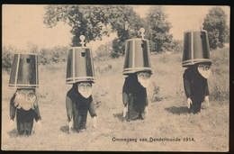 OMMEGANG VAN DENDERMONDE 1914 - DE HOTTENTOTTEN - Dendermonde