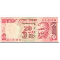 Billet, Inde, 20 Rupees, 2014, Undated (2014), KM:103b, NEUF - Inde