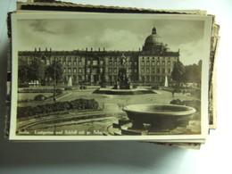 Duitsland Deutschland Berlin Lustgarten Und Schloss Mit Schale - Duitsland