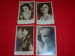 4 Cartoline Pola Negri Attrice * - Donne Celebri