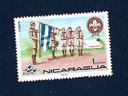 NICARAGUA Scout Stamp - Scouting