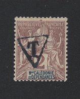 Faux Nouvelle-Calédonie Taxe N° 1A 2 C Gomme Charnière - Timbres-taxe