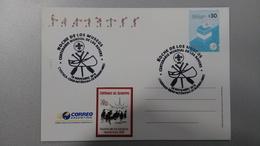 Scout - 100 Años De Los Rovers - Cayado Y Canoa - CABA -  10/11/2018 -  Argentina - Matasellos (#1) - Scouting