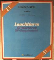 Leuchtturm - JEU O.N.U. NEW-YORK 1981 SF (Avec Pochettes) - Albums & Reliures