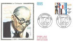 FDC Le Corbusier (75 Paris 11/04/1987) - FDC
