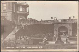Italian Gardens, Osborne, Isle Of Wight, C.1910s - RP Postcard - Cowes