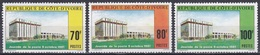 Elfenbeinküste Ivory Coast Cote D'Ivoire 1981 Post Architektur Architecture Bauwerke Gebäude Buildings, Mi. 702-4 ** - Côte D'Ivoire (1960-...)