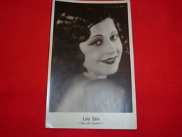 Cartolina Lola Salvi Marcella Battelini Attrice * - Donne Celebri