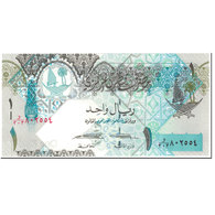 Billet, Qatar, 1 Riyal, 2017, Undated (2017), KM:28, NEUF - Qatar