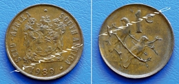 SOUTH AFRICA SUID AFRIKA 1 Cent 1989 SPARROWS - South Africa