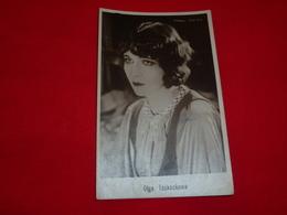 Cartolina Olga Tsekeckowa Attrice * - Donne Celebri