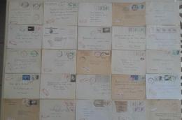Belgique - 1981/85 - Petit Lot De 25 Lettres Recommandées Envoyées Depuis La FLANDRE - VLAANDEREN - Timbres