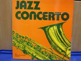 LP101- JAZZ CONCERTO -ROSOLINO-CANDOLI-VALDAMBRINI-BASSO-VANNUCCHI-SANTUCCI-TONY SCOTT-GRILLINI-DONADIO - Jazz