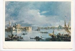 Toledo Museum Of Art, Francesco Guardi, San Giorgio Maggiore, Venice, Used Postcard [22621] - Paintings