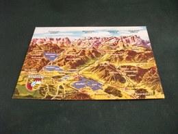 CARTA GEOGRAFICA VOM BAYERISCHEN OBERLAND MIT LOISACH U. AMMERTAL BAYERN GERMANIA - Carte Geografiche