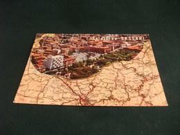 CARTA GEOGRAFICA SALUTI DA SASSARI SARDEGNA - Carte Geografiche