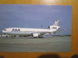 ASA Atlantic Southeast Airlines McDonnell Douglas DC-10 At Francoforte - 1946-....: Era Moderna