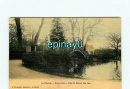 78 - LE VESINET - Grand Lac - Pont Du Casino Des Iles - Carte Toilée - Le Vésinet