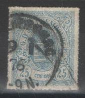 Luxembourg - YT 20 Oblitéré - 1859-1880 Armoiries