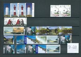 Norge/Norway 25x A EUROPE Unfranked Postage Stamps,no Gum! (D-68) - Noorwegen