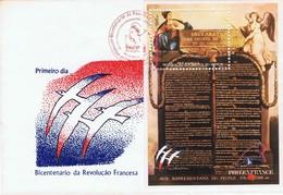 """MOZAMBIQUE -  Bicentenaire De La Révolution Française Et """"Philexfrance 89"""" - Rivoluzione Francese"""