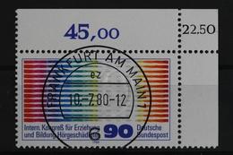 Deutschland (BRD), MiNr. 1053, Ecke Re. Oben Mit KBWZ, EST - [7] République Fédérale