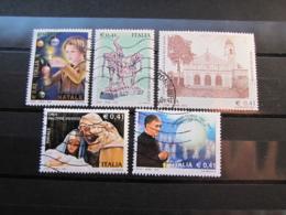 ITALIA LOTTO USATI 2002 - NATALE ACQUI SM GRAZIE ESCRIVA - 6. 1946-.. Repubblica