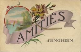 Enghien : Amitiés  (  Ecrit Avec Timbre ) - Enghien - Edingen