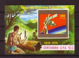 466b * ÄQUATORIAL GUINEA  BLOCK * 100 JAHRE UPU * POSTFRISCH ** !! - Post