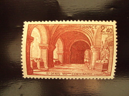 "1944 - Timbre Neuf, ++   N° 661        ""  Crypte De St Denis      ""  Côte  0.50    Net    0.15 - Neufs"