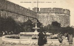 """1 Cpa Saint Malo - Le Square  """"pionnière 1905"""" - Saint Malo"""