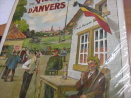Affiche Likeurstokerij  GENEVER De Poldernaar 50cm X75cm Litho, Pre 1914 , VIEUX ANVERS Félix Van Rillaer - MYNCKE, - Affiches