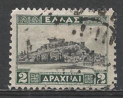 Greece 1927. Scott #329 (U) The Acropolis - Grèce