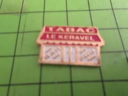 710g Pins Pin's / Rare & Belle Qualité THEME MARQUES / BAR TABAC PMU LE KERAVEL De Christophe Colomb ? - Markennamen