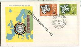 FDC - Belgien - Belgique - Europa 1961 - FDC