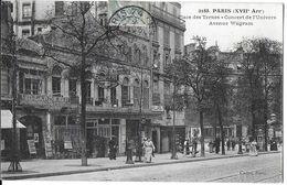 PARIS 75017 SEINE 2188 PLACE DES TERNES CONCERT DE L'UNIVERS AVENUE WAGRAM  . JCT&DG - France