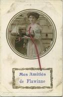 Flawinne ;  Mes Amitiés   (  Ecrit 1911 Avec Timbre ) - Belgique