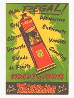 Buvard ( 20.5 X 13.5 Cm ) Sirops De Fruits Teisseire - Buvards, Protège-cahiers Illustrés