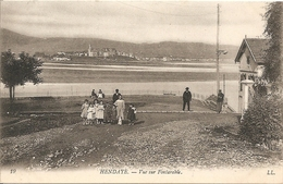 HENDAYE - VUE SUR FONTARABIE - VIAGGIATA - (rif. D48) - Hendaye