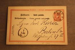 ( 1437 ) GS DR  P 14 / 02  Gelaufen  -   Erhaltung Siehe Bild - Allemagne