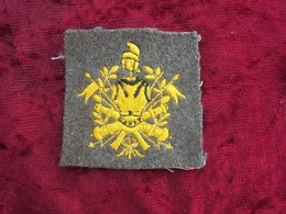 Fregio Vintage E.I. Da Copricapo Accademia E Scuola Sottufficiali Raro - Esercito