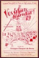 """"""" VOS ENFANTS MARECHAL ! """"  ( Maréchal Pétain )  Edition Choquet De Broca ( Langres )  1942 - Partitions Musicales Anciennes"""