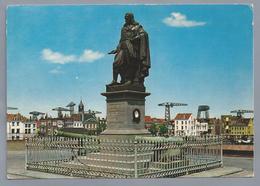 NL.- VLISSINGEN. Monument M.A. DE RUYTER. - Sculpturen