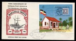 MARSHALL ISLANDS - MAJURO / 1989 ENVELOPPE FDC (ref 7965a) - Marshall